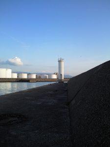 白灯台の写真